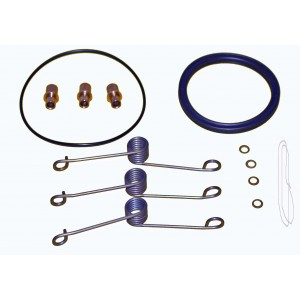 "Dry Break Rebuild Kit - (Female) Redhead for 2.5"" Receiver, 2.0 I.D. Bore"