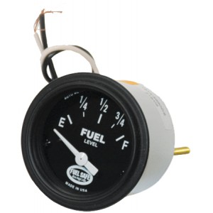 "2"" round analog Fuel Gauge 76-6 Ohm"