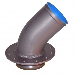 "Remote Quick Fill 3"" 45° Roll Over Valve (4.75"" Bolt Center)"