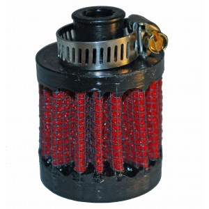 "1/2"" Breather filter, UNI in-line air filter"