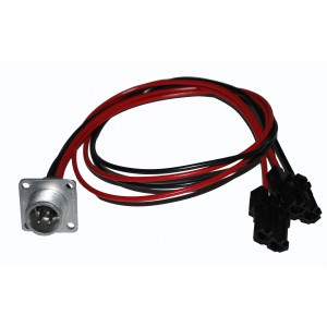 ASA 5700 Male 4 Wire Harness  (Mount in plate)