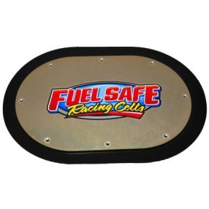 .063 aluminum Sprint and Midget cover plate with wear guard.