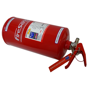 FIA18-L4S Four Ltr. Steel Mechanical Bottle with Lever Valve