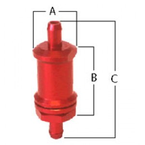 In line tank vent valve with rollover proetection for use in all motorsports vehicles.
