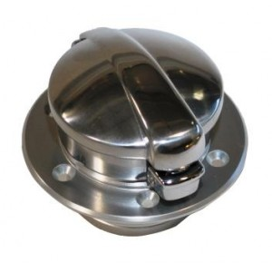 fill cap with flange neck