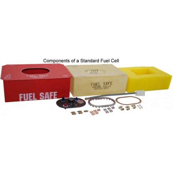 Enduro Cell - Complete Aluminum Fuel Cell, ED-A