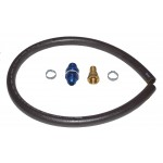 "Fuel Pick-up Kit 5/8"" - 10 AN - with bulkhead fitting, hose adapter, 3' of hose, and hose clamps, No Filter"