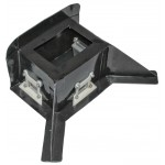Center Collector with 3 Machined Aluminum Trap Doors (TD150) and Directional Fins (Road Course)