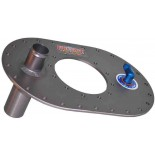 Multi-location 6x10 Plate- Aluminum with 1¼ Vent Valve with rollover check valve.
