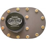 "Standard 4x6 Fill Plate with 2.5"" Threaded Cap"