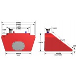 CB401 Fuel Cell Dimensions