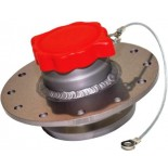 "2.25"" remote fill valve with roll over protection and bayonette style fill cap."