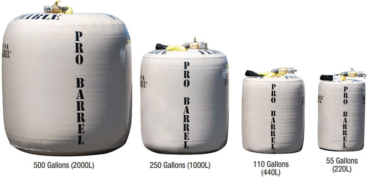 Pro Barrel Sizes
