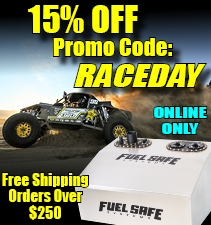 Fuel Safe RaceDay Promo