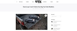 Giant Loop Gas Bag UTV Sports Mag